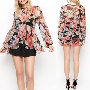 Alice McCall Beloved Silk Georgette Blouse